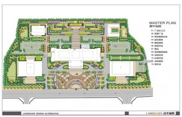 清镇市市政广场景观