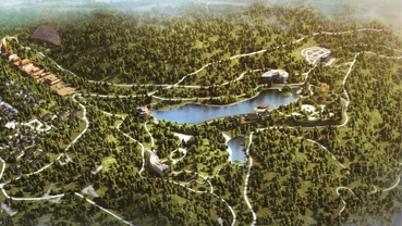 贵州.盘州.紫森源森林康养项目
