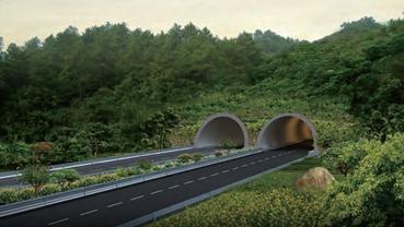 庐下隧道延伸段道路工程